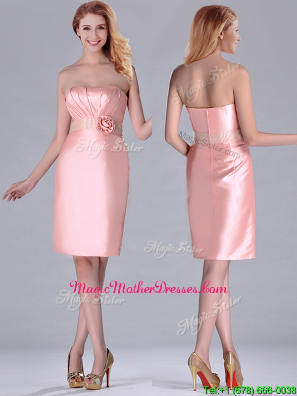Short Pink Mother of the Bride Dresses