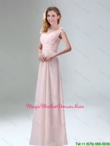Beautiful Chiffon Mother Of The Bride Dresses in Light Pink for 2016