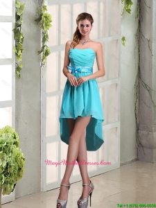 2016 Decent Sweetheart A Line Mother Of The Bride Dresses with Ruching and Belt