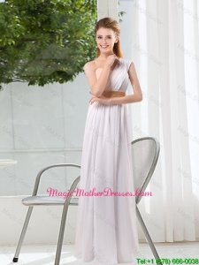 Ruching One Shoulder Empire Mother Of The Bride Dresses for 2016