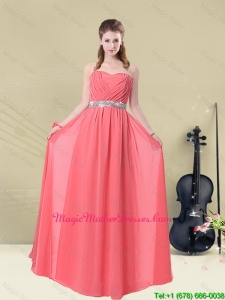 2016 Brand New Strapless Beaded Mother Of The Bride Dresses Floor Length