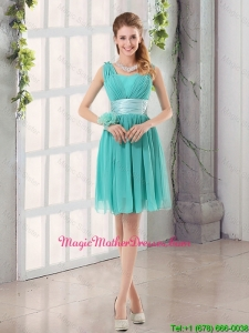 Straps Ruching Sweetheart A Line 2016 Cheap Mother Of The Bride Dress