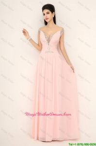 Beautiful Off the Shoulder Mother Dresses with Cap Sleeves