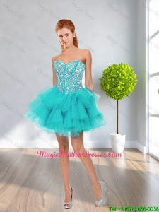 Latest Ball Gown Sweetheart Beaded Mother Of The BrideDresses in Multi Color