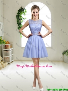 Popular 2016 Appliques Lavender Mother Of The Bride Dresses with Bateau