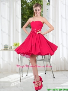 Custom Made A Line Sweetheart Mother Of The Bride Dress in Chiffon