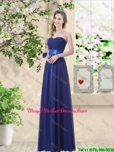 Discount Sweetheart Floor Length Mother Of The Bride Dresses with Sash