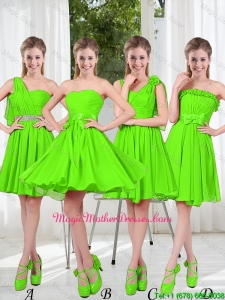2016 Summer Luxurious A Line Short Beaded Mother Of The Bride Dresses
