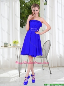 Short Strapless Mother Of The Bride Dresses for Wedding Party