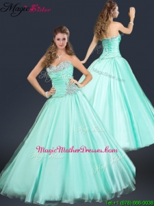 2016 Perfect Sweetheart Beading Mother Of The Bride Dresses in Apple Green