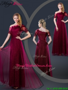Perfect Empire Appliques Mother Of The Bride Dresses with Asymmetrical