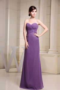Hot Sale Floor-length Purple Mother of the Bride Outfits for a Cheap Price