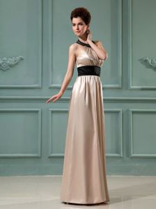 Plus Size Halter Champagne Long Dresses for Bride Mother in Cairns QLD