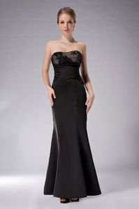 Elegant Black Taffeta Mother Dresses for Formal Prom in Brisbane QLD