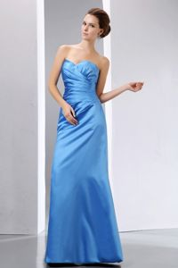 Elegant Blue Sweetheart Floor-length Mother of the Bride Outfits in Mississauga