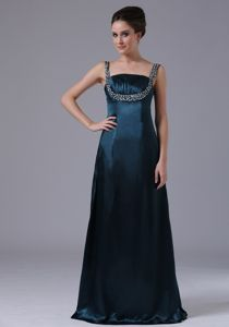 Navy Blue Beading Ruches Straps Mother Dress in Barrowford Lancashire