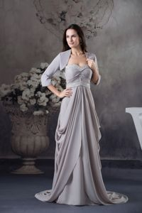 Sweetheart Beading Empire Brush Mother Bride Dress in Carthage