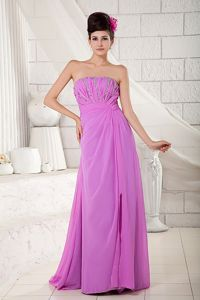 Elegant Lavender Beaded 2013 Mother of The Bride Outfits in Burlison