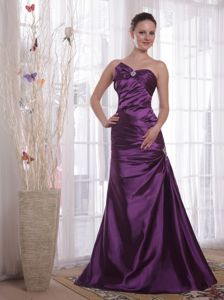 Sweetheart Purple Taffeta Mother Of The Bride Outfits in Minnesota