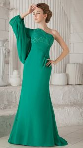 Single Sleeves One Shoulder Dress for Bride Mother for Newark Delaware