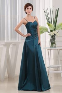 2014 Straps Appliques Teal Mother Dresses in Eureka Springs Arkansas