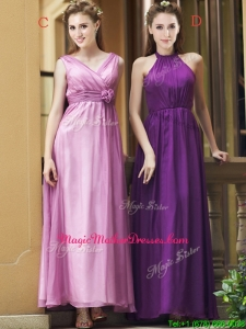 Exclusive Empire Chiffon Ankle Length Mother Of The Bride Dresses with Ruching