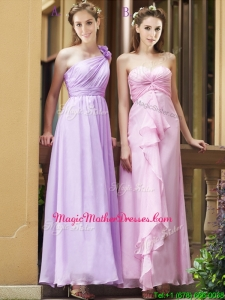 Perfect Empire Ankle Length Zipper Up Mother Of The Bride Dresses in Chiffon