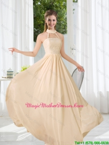 Halter Empire 2016 Classical Mother Of The Bride Dresses with Lace