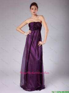 Perfect Ruched Sweetheart Mother Gowns with Hand Made Flowers