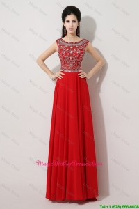 Discount Brush Train Beaded Mother Dresses with Bateau
