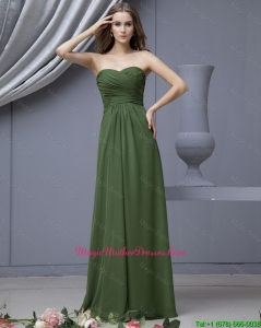 2016 Modern Empire Sweetheart Mother Dresses with Ruching