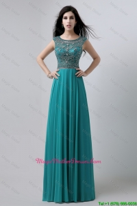 Discount Bateau Floor Length Mother Dresses with Beading