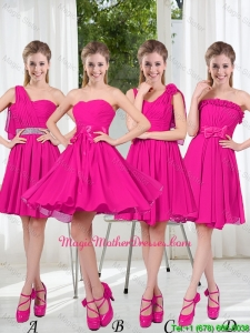 2016 Spring A Line Short Mother Of The Bride Dresses with Ruching