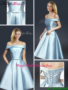 Fall A Line Knee Length Mother Of The Bride Dresses with Ruching