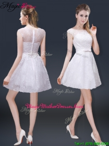 2016 Lovely Cap Sleeves Mother Of The Bride Dresses with with in Lace