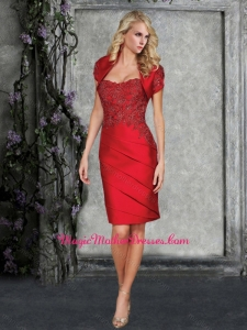 2016 Formal Sweetheart Mother of The Bride Dress with Appliques