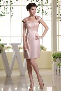 Popular Baby Pink Short Mother Dress with Straps in Sunshine Coast QL