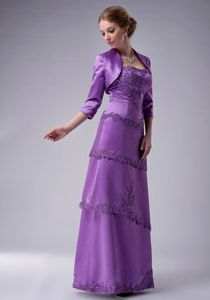 Beautiful Appliqued Light Purple Mother of the Bride Dresses for Wholesale