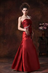 Armour Stylish Beading Accent Column Fitted 2013 Mother Bride Dress