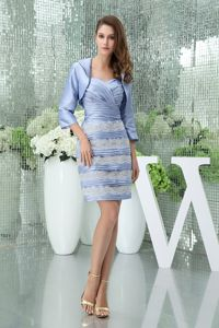 Sweetheart Appliques Lilac Layered Mother Of The Bride Outfits 2014