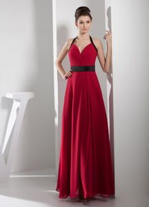 Halter Top Ruched Cool Back Red Pearce Arizona Mother Party Dresses